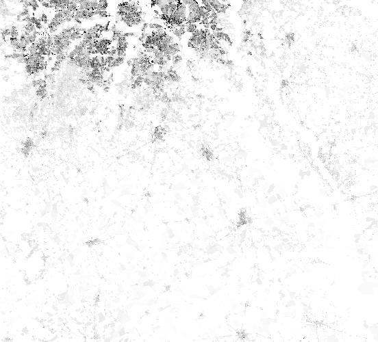A layer behind the map